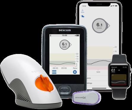 Dexcom G6 CGM Glucose Monitoring Supplies